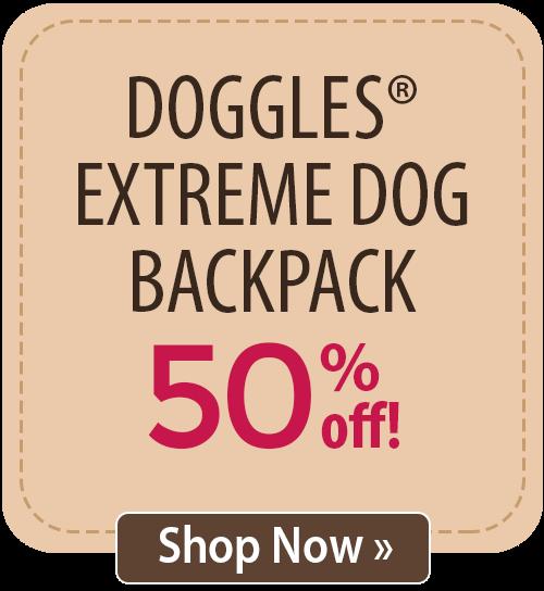Doggles� Extreme Dog Backpack