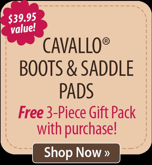 Cavallo Boots & Saddle Pads