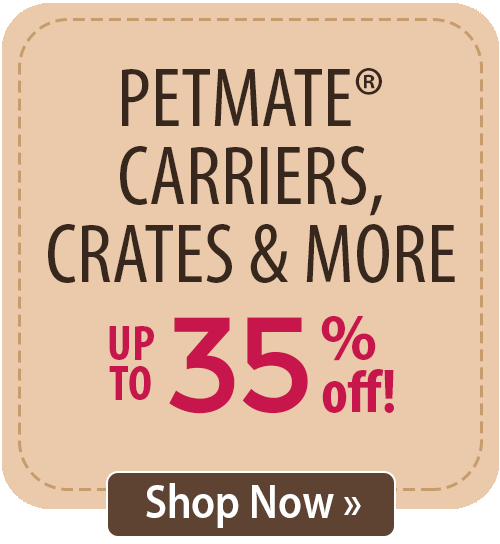 Petmate Carriers, Crates & More