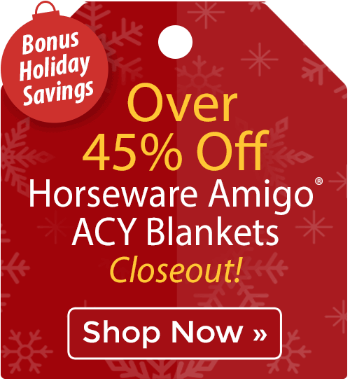 Over 45% off Horseware Amigo® ACY Blankets
