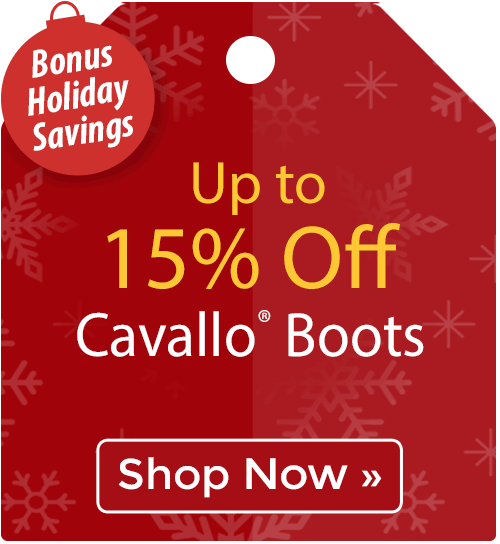 Up to 15% off Cavallo® Boots