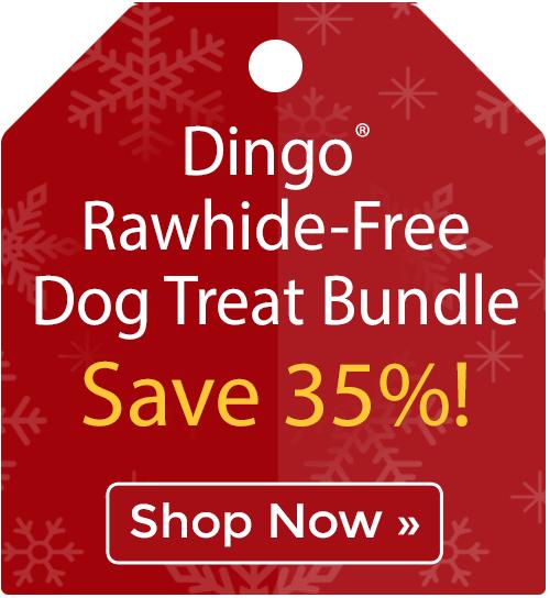 Dingo® Rawhide-Free Dog Treat Bundle