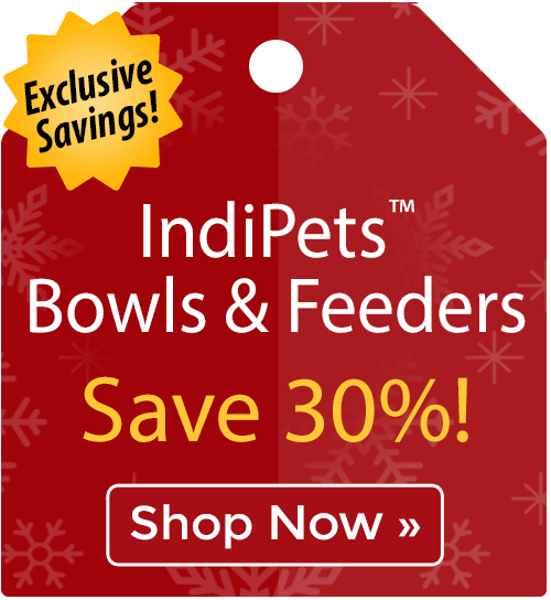 IndiPets™ Bowls & Feeders