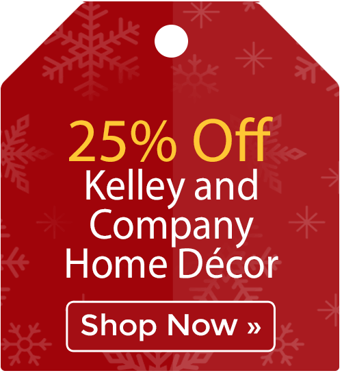 25% off Kelley and Company Home D�cor