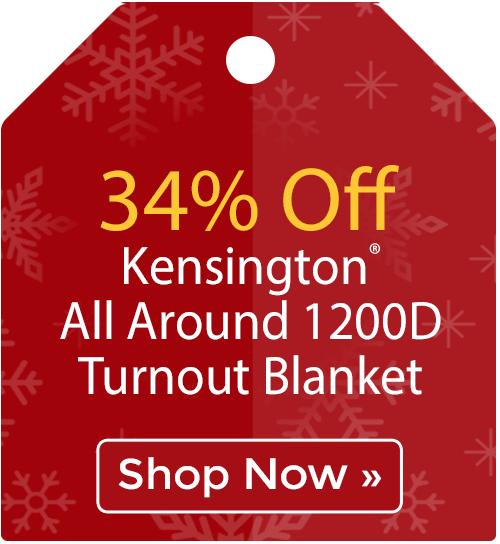 34% off Kensington® All Around 1200D Turnout Blanket