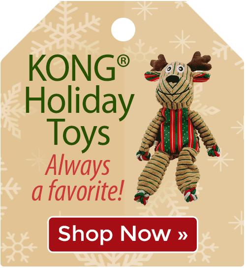 KONG® Holiday Toys