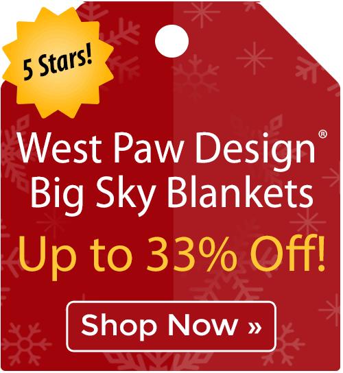 West Paw Design® Big Sky Pet Blankets