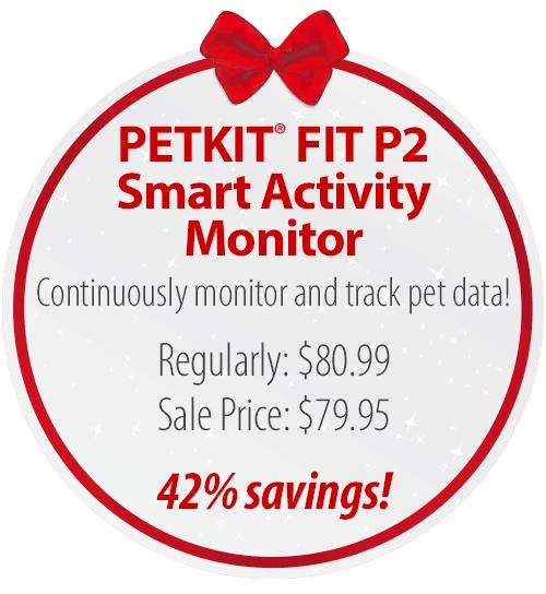 PETKIT� FIT P2 Smart Pet Activity Monitor